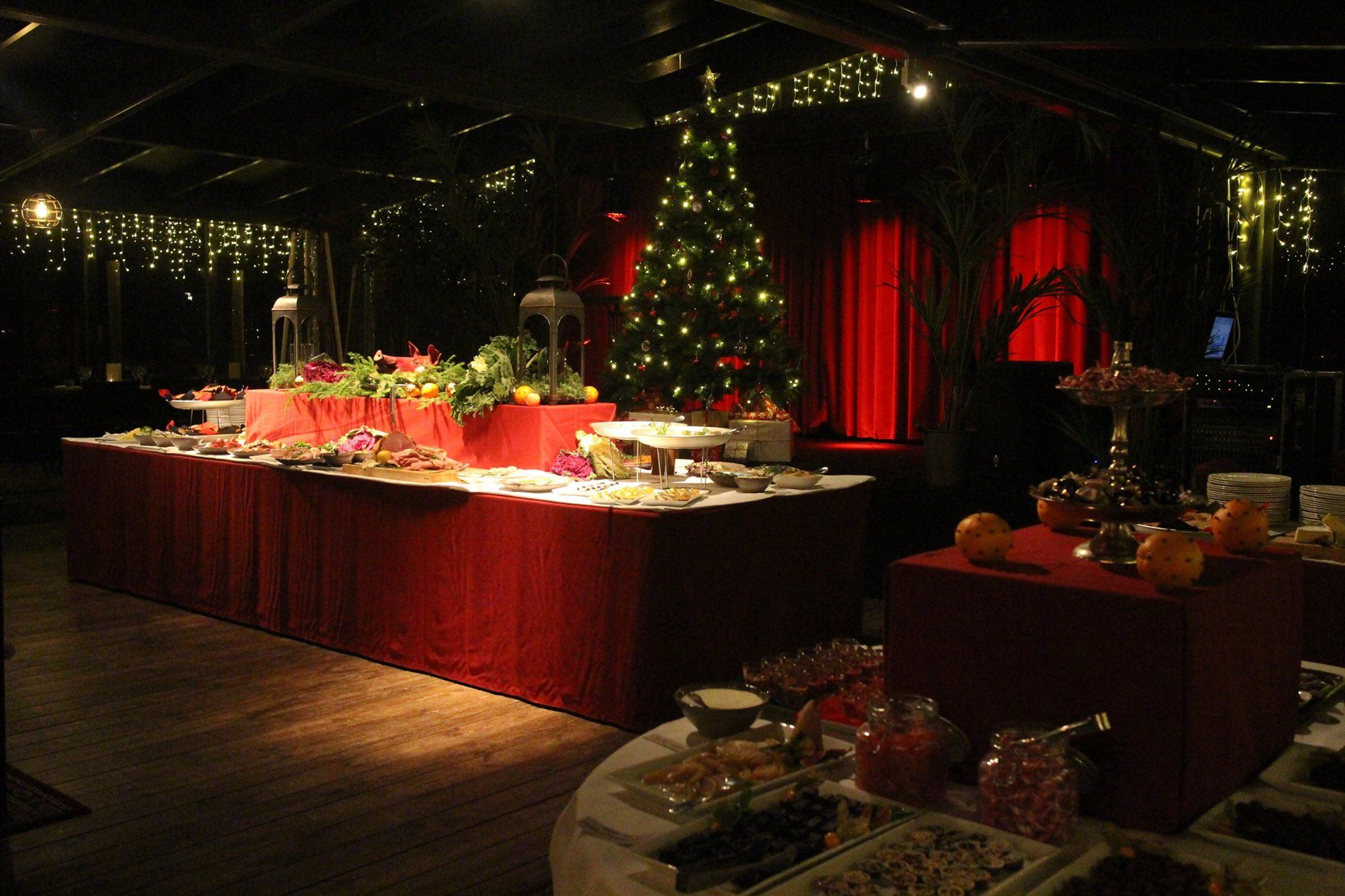 Christmas buffet at restaurant Brasserie