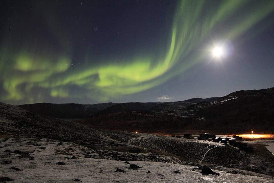NORTHERN LIGHTS CHASE IN THE NORTH CAPE AREA