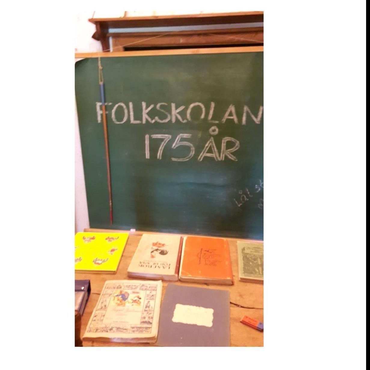 Skolutställning - Folkskolan fyller 175 år