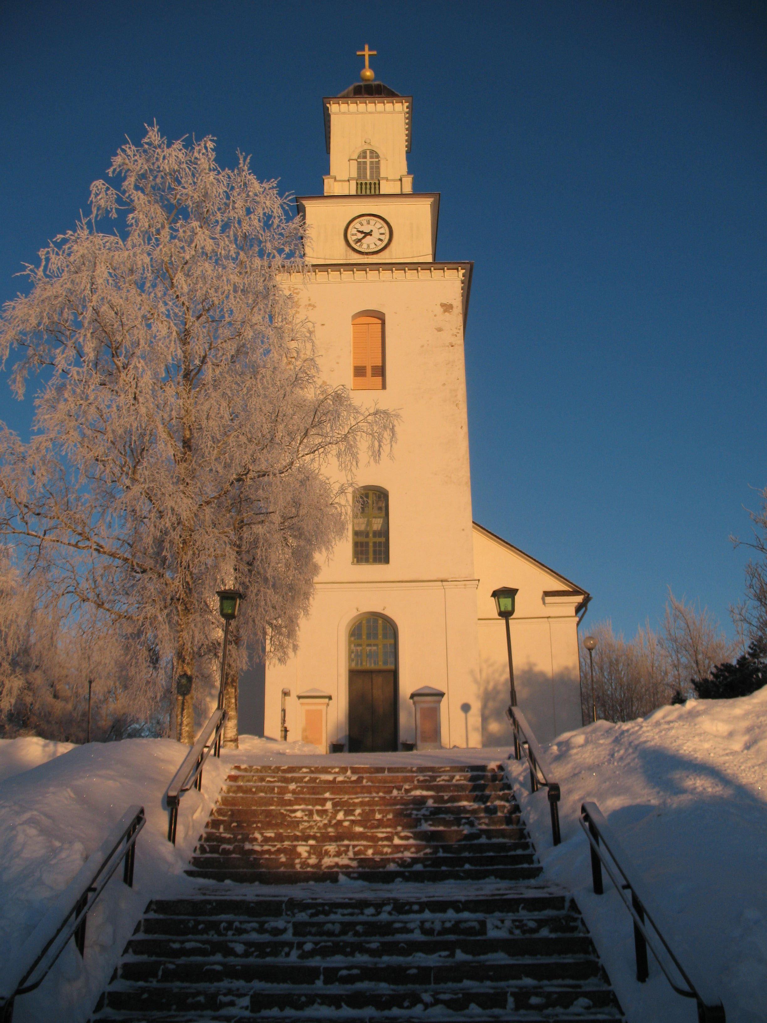 Vi sjunger och spelar in julen, Boda kyrka
