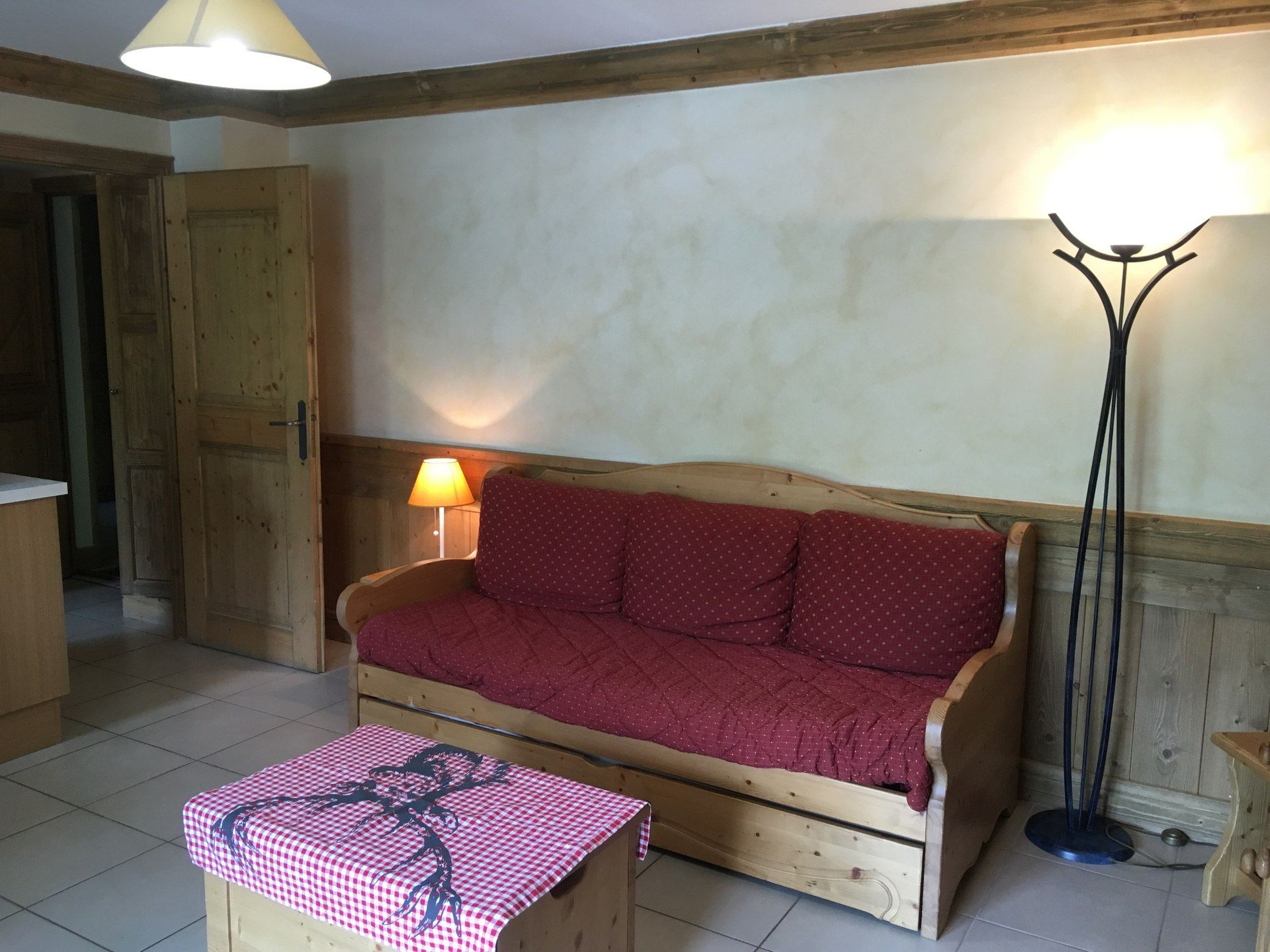 2 Rooms 4 Pers ski-in ski-out / LE COCHET 6