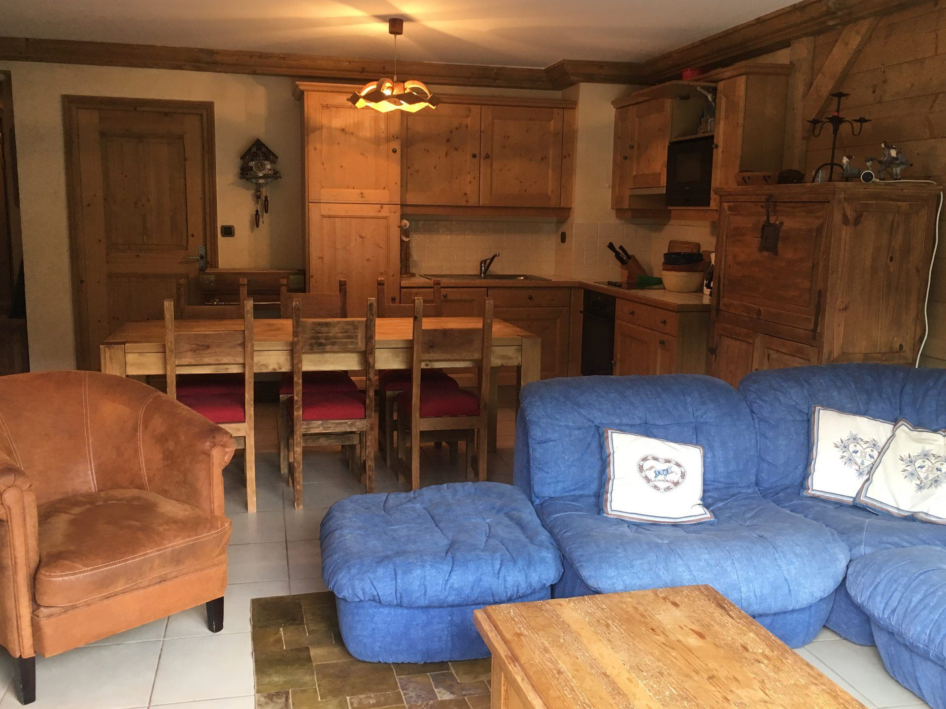 5 Rooms 8 Pers ski-in ski-out / LE COCHET 9