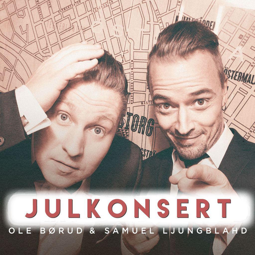 Julkonsert med Ole Börud, Samuel Ljungblahd och kören Lingon & Mjölk