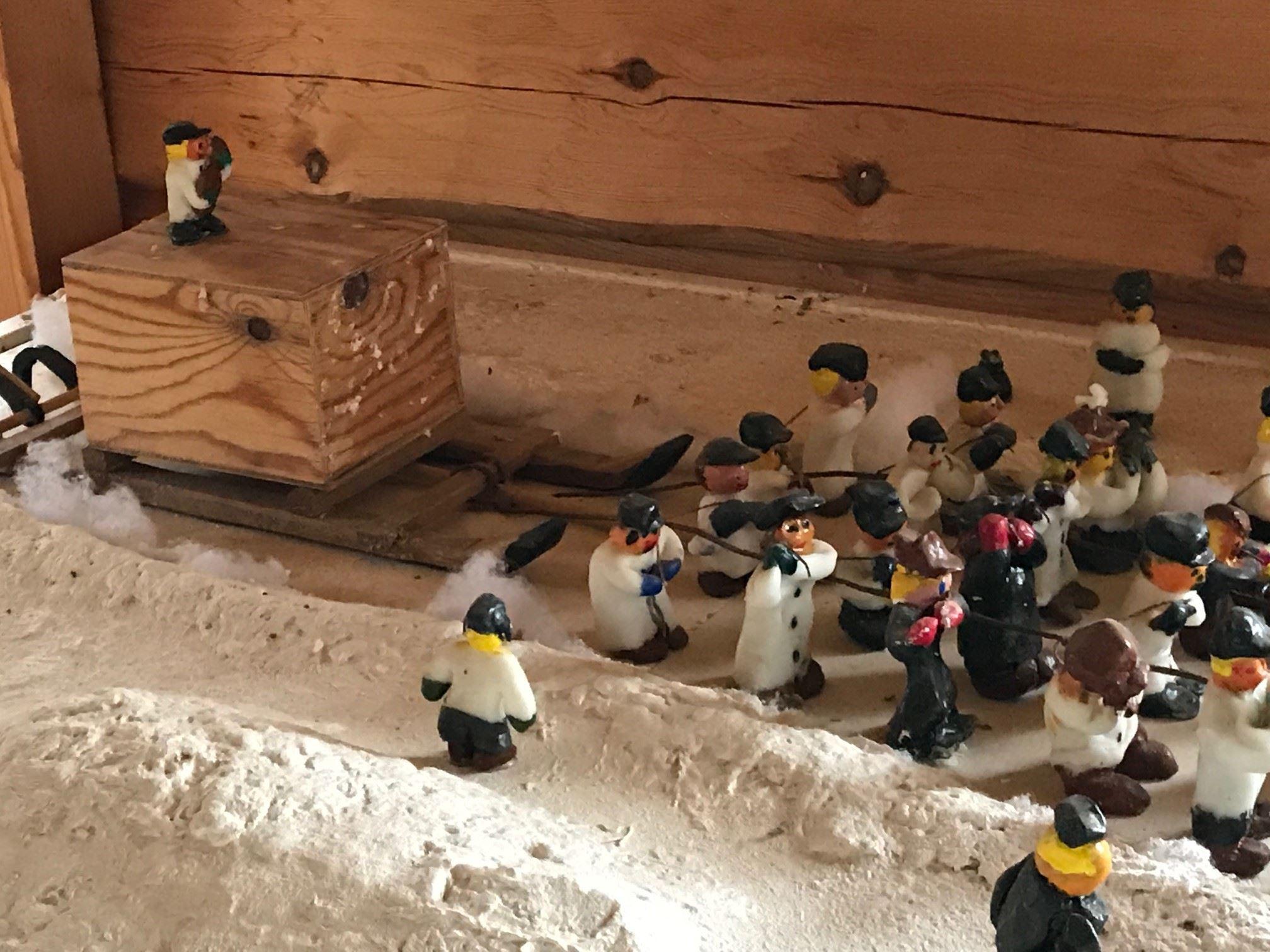 Det stora sarkofagdraget -inget för fegisar