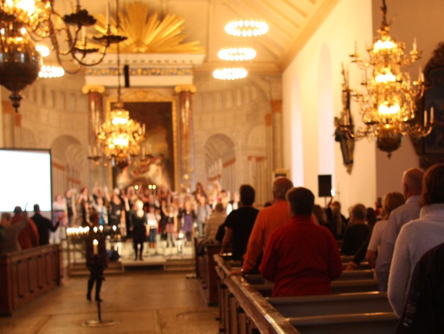 Concerts during cultural night at Carl Gustafs church