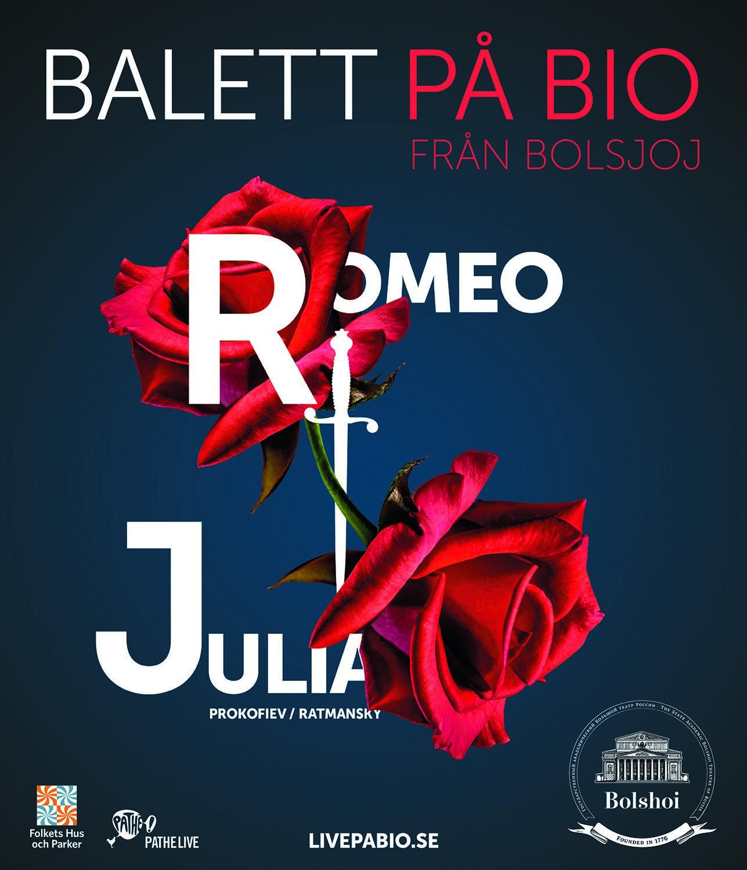 Bolsjojbaletten, Moskva, ger Romeo och Julia