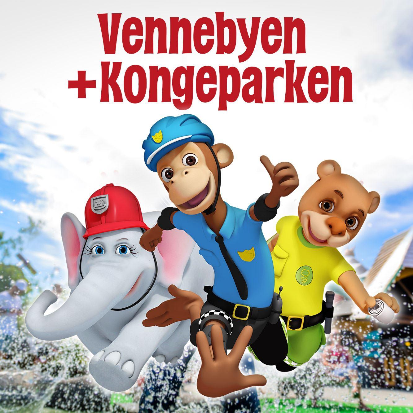 Vennebyen + Kongeparken