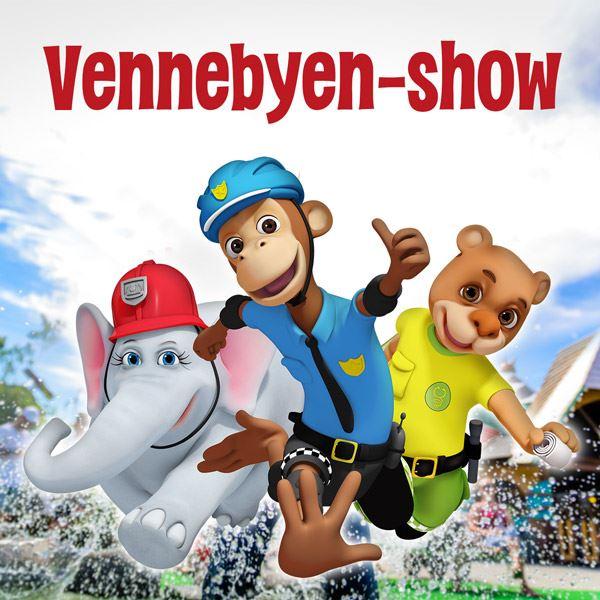 Vennebyen-show