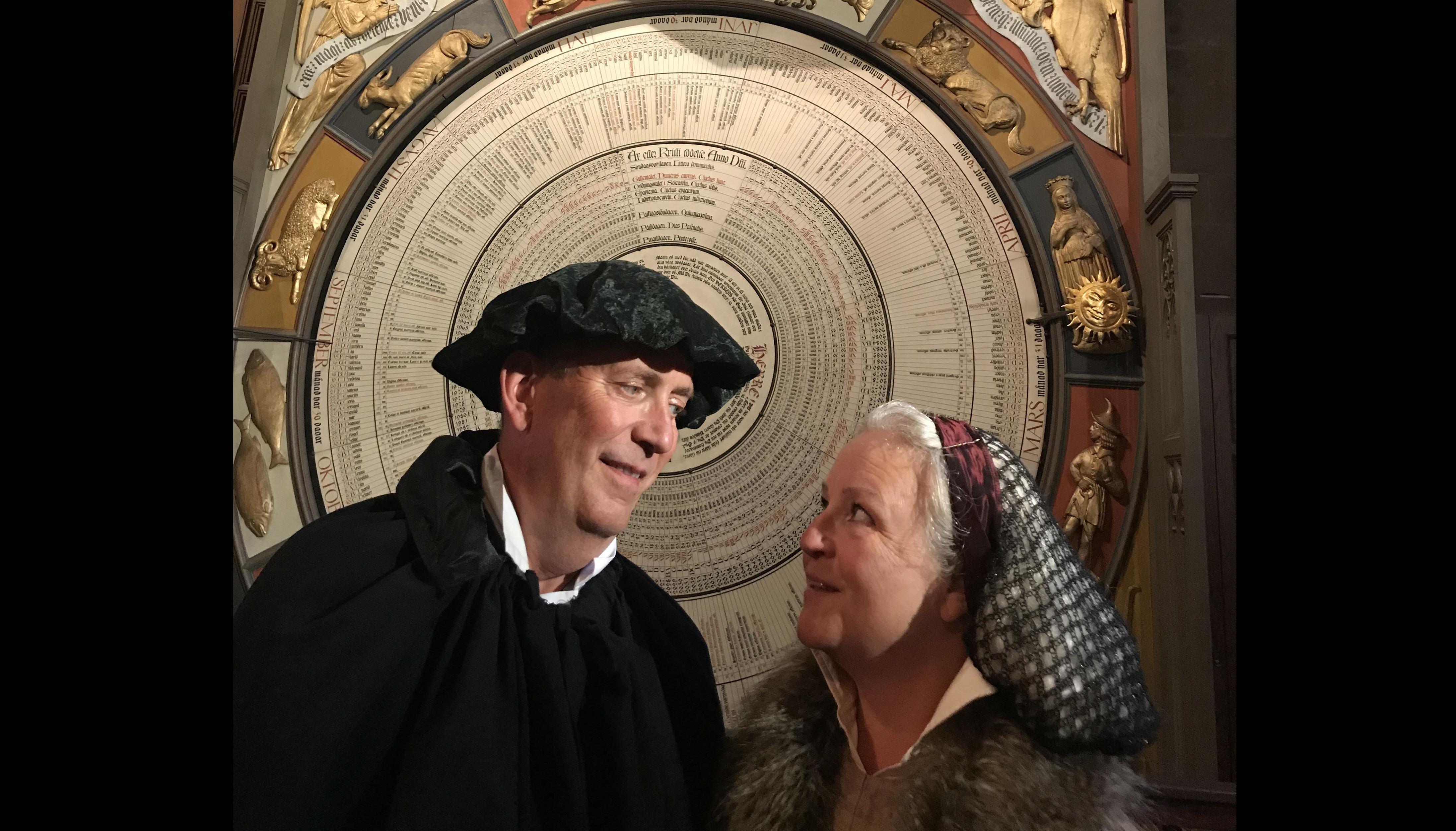 Middag och bordssamtal med Martin Luther och Katarina von Bora