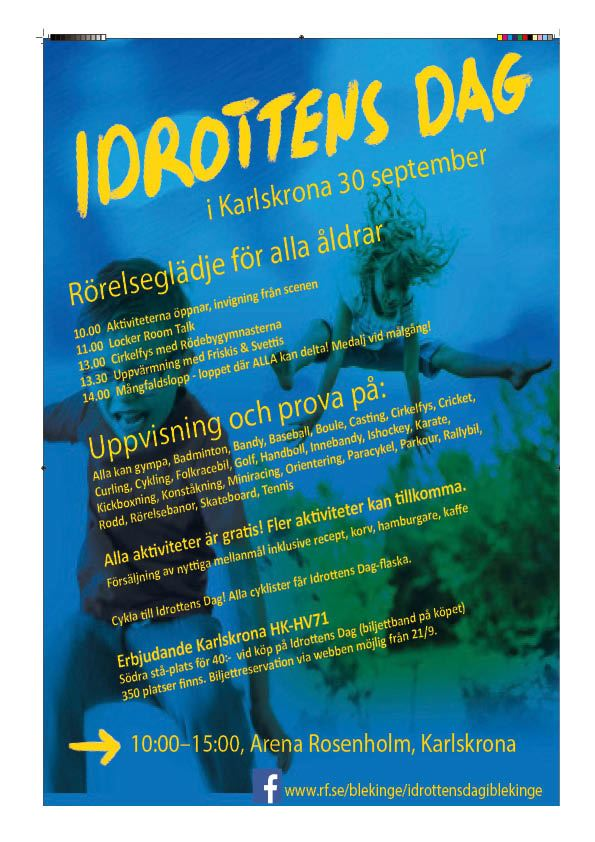 Idrottens Dag - roadshow