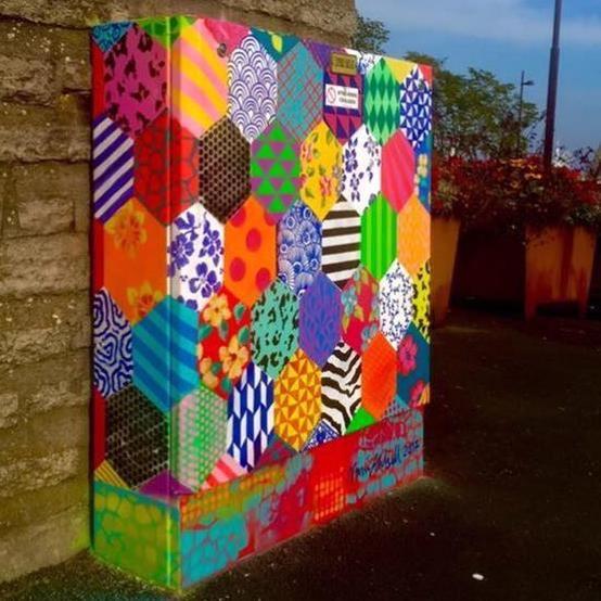 Invigning av Elskåpsrundan 2018 - Street Art Österlen