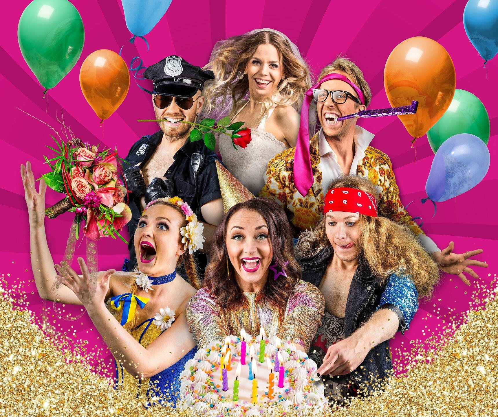 GOLDEN HITS - 25-årsfesten - Vår show på entréplan