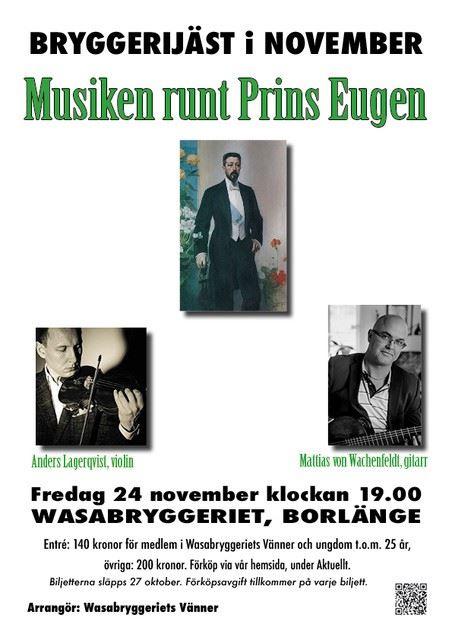 Musiken runt prins Eugen