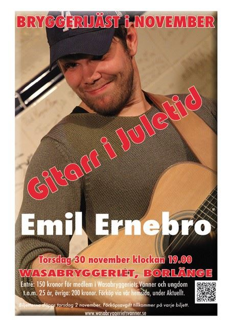 Gitarr i juletid, Emil Ernebro