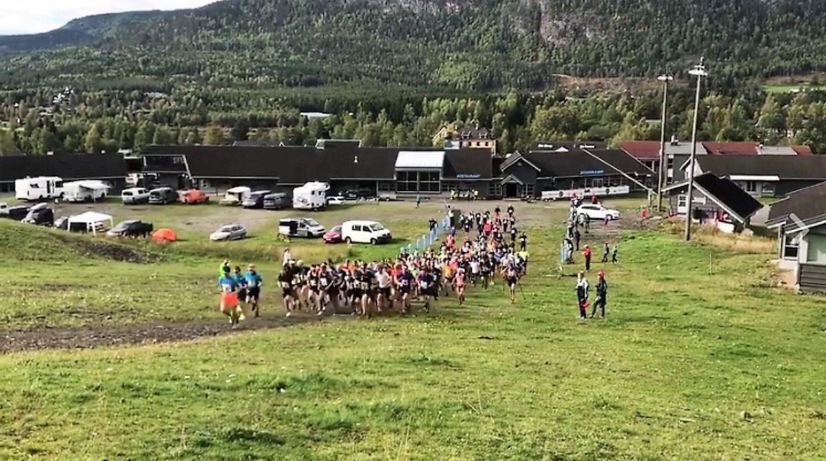 Hafjell uphill race