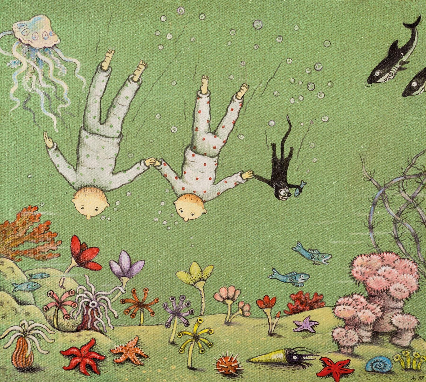 Vernissage - Anna Höglund  Originalillustrationer