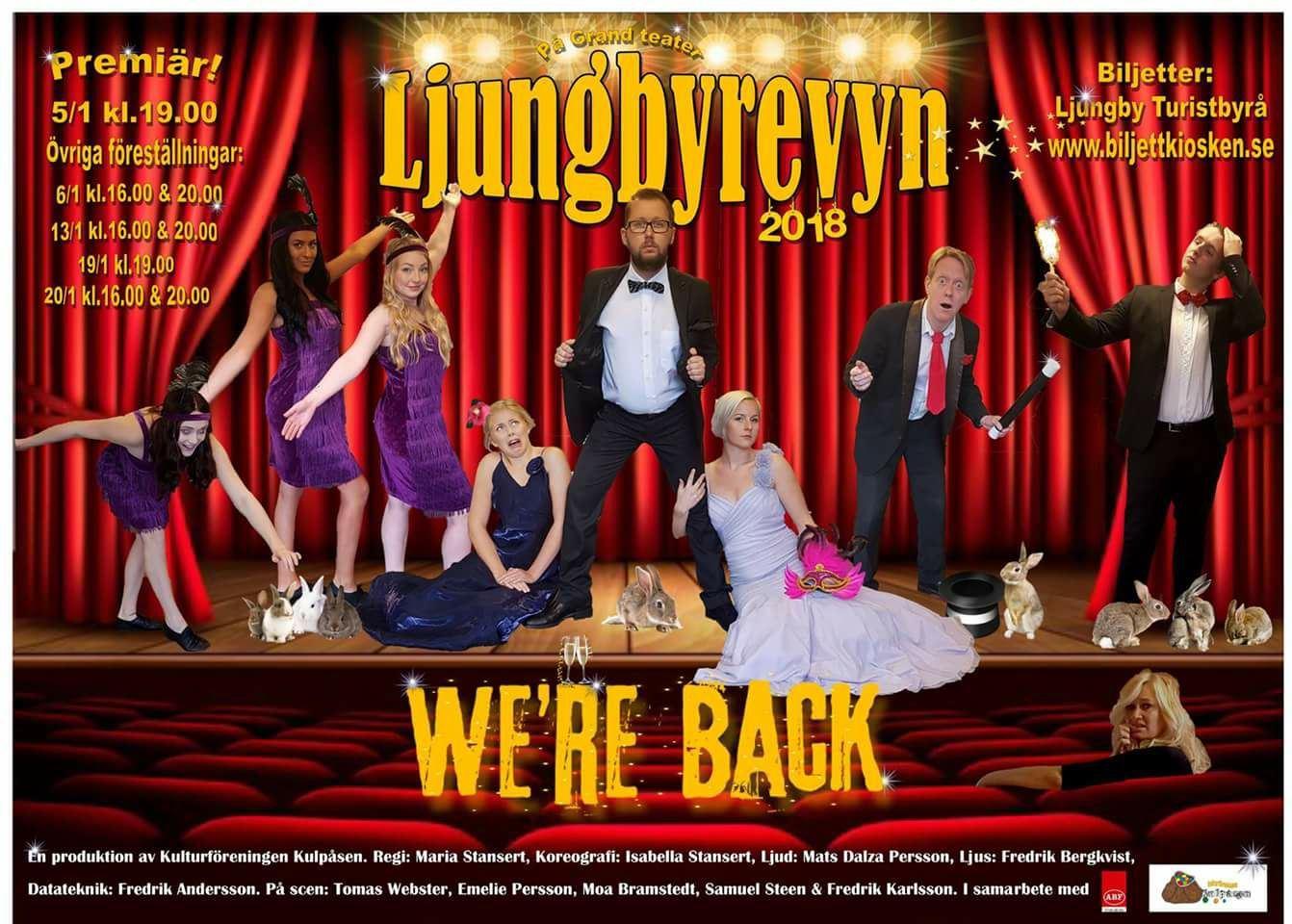 Ljungbyrevyn 2018 - We´re back