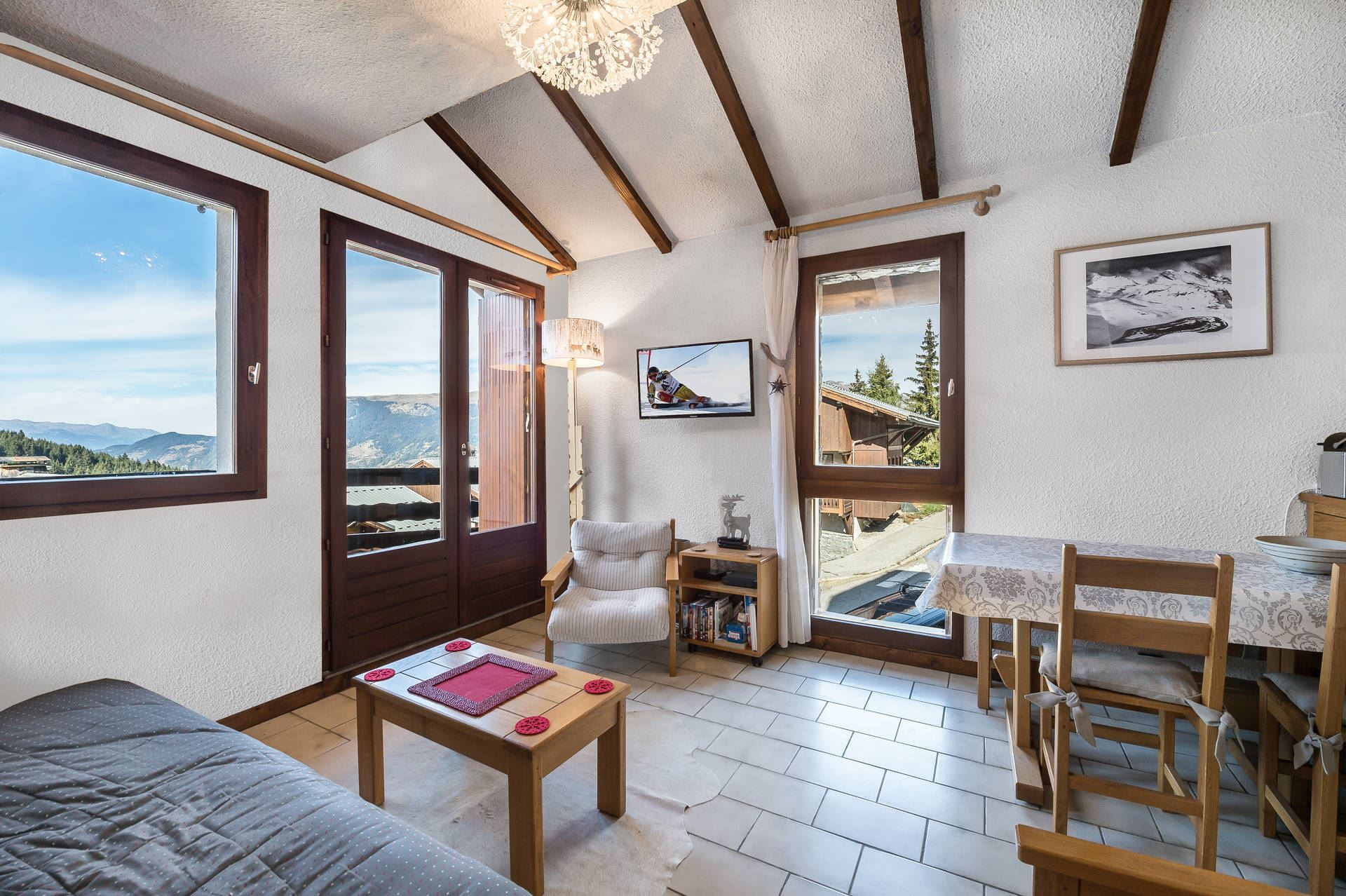 2 rooms 4 people / LES PRIMEVERES 12 (mountain)