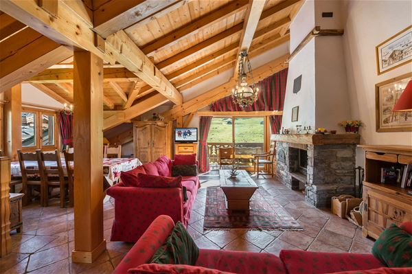 4 rooms duplex 8 people ski-in ski-out / LE TETRAS 2 (Mountain of Dream) / Tranquillity Booking