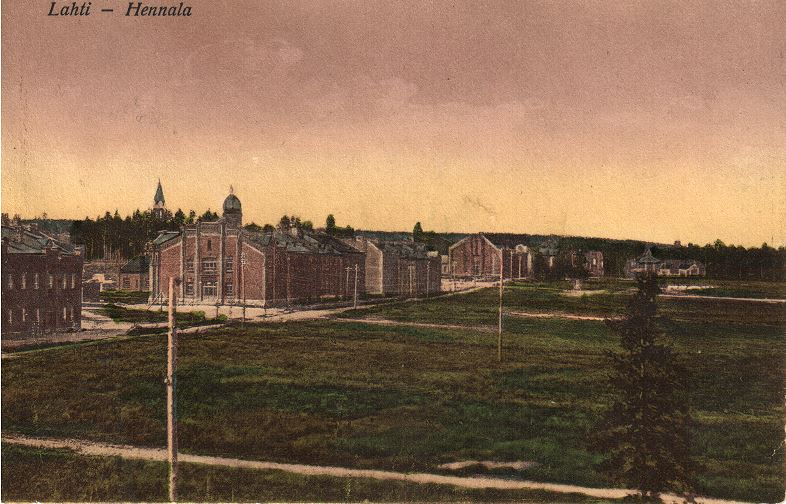 Hennalan kasarmialue ja Lahti 1918- teemaopastus