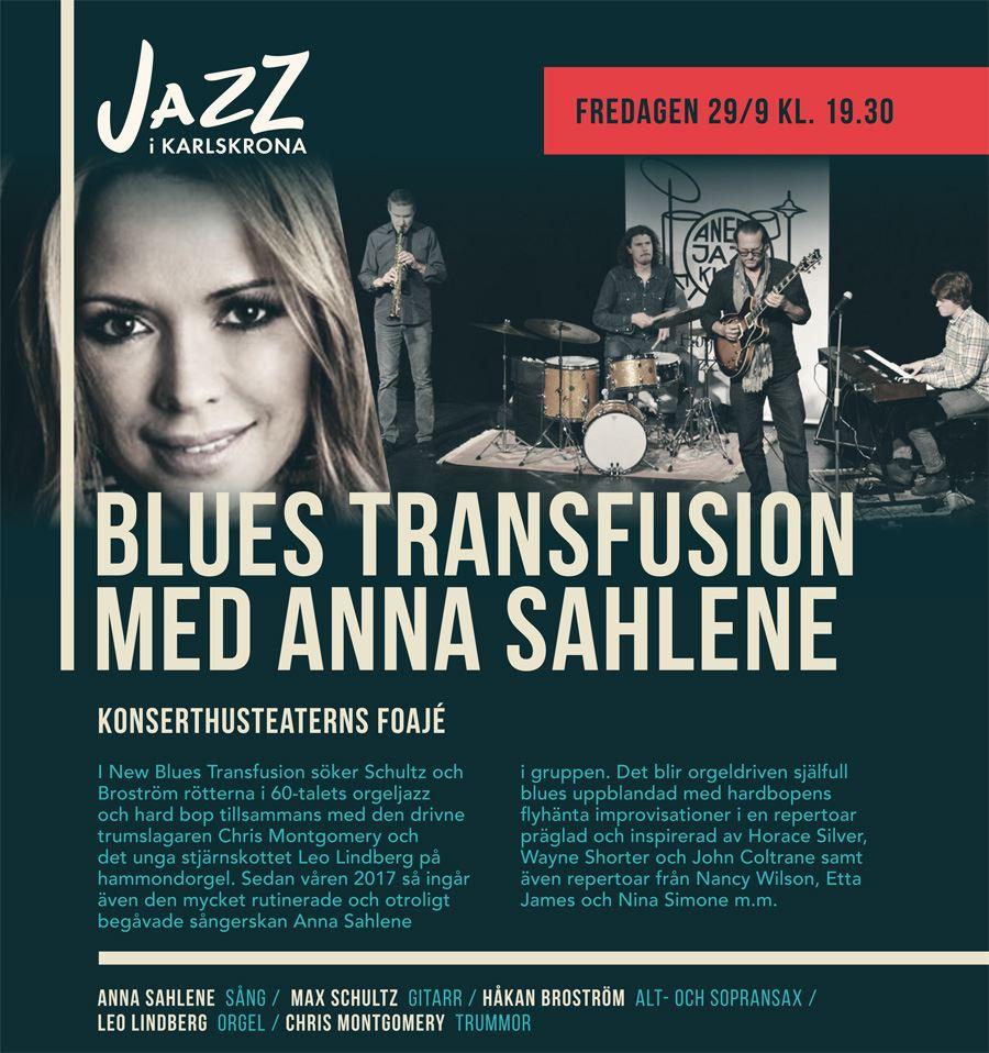 Blues Transfusion with Anna Sahlene