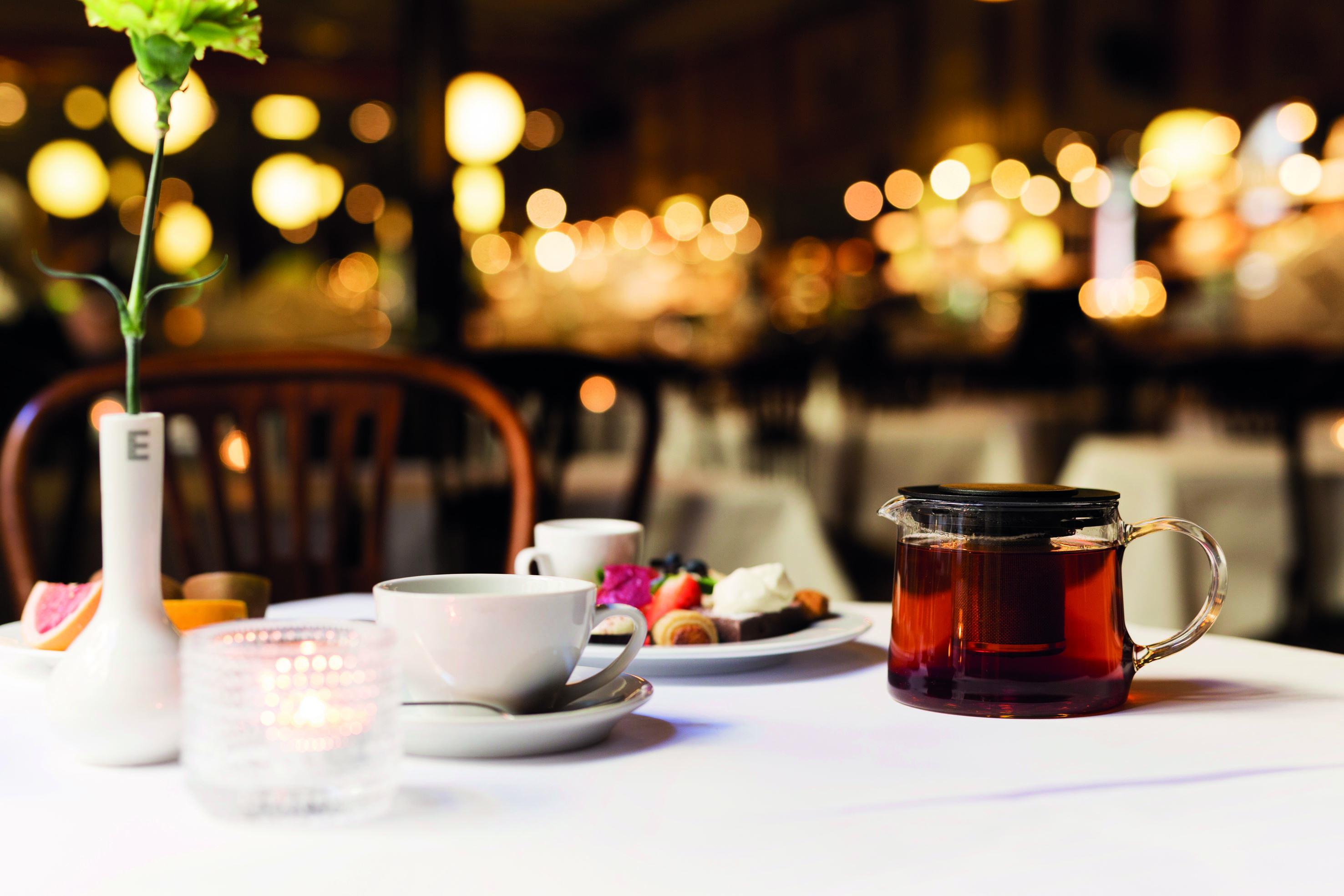 Afternoon Tea på Hotel Knaust