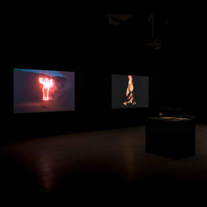 Visning av dokumentären Ana Mendieta, Nature Inside på Bildmuseet