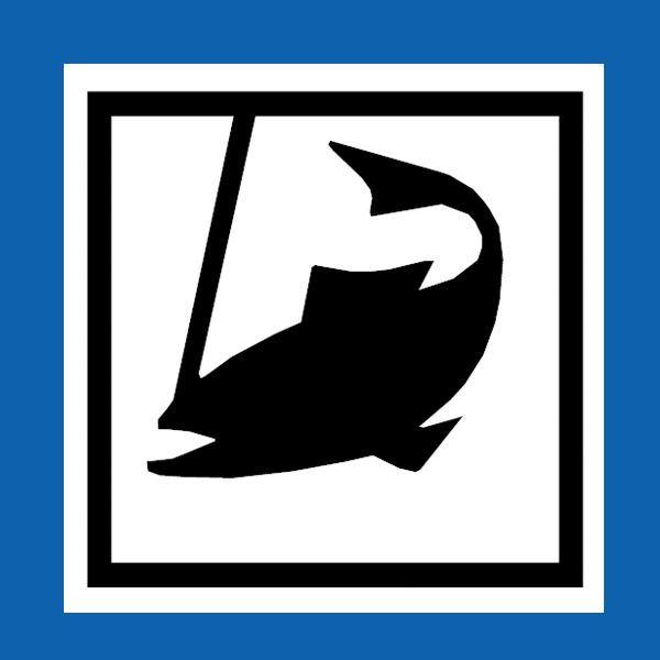 Angelkarte - Delary Dammsjö