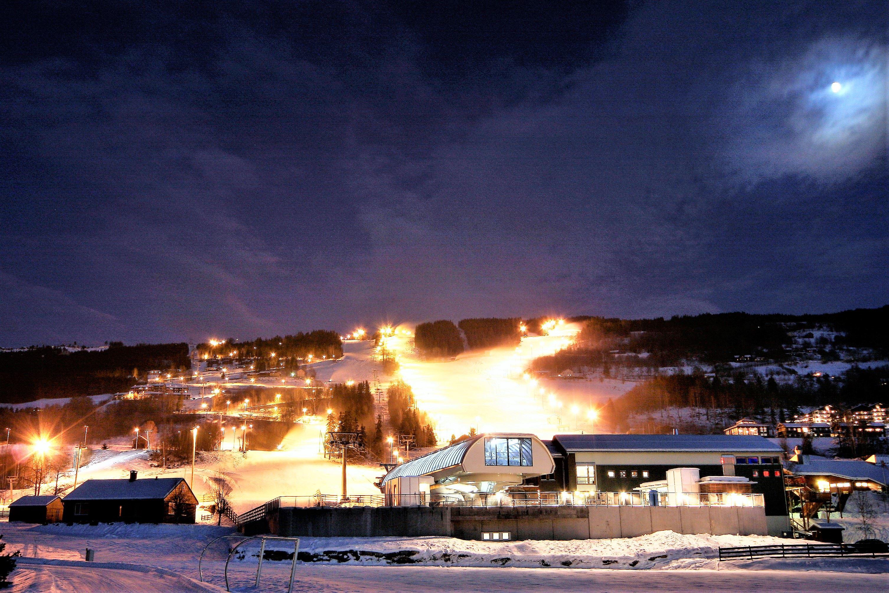 Winter ski holiday in Hafjell