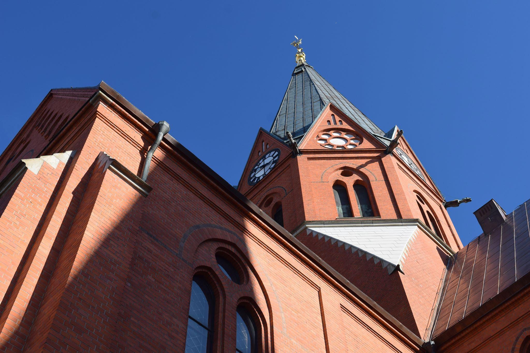 Högmässa i Sankt Petri kyrka