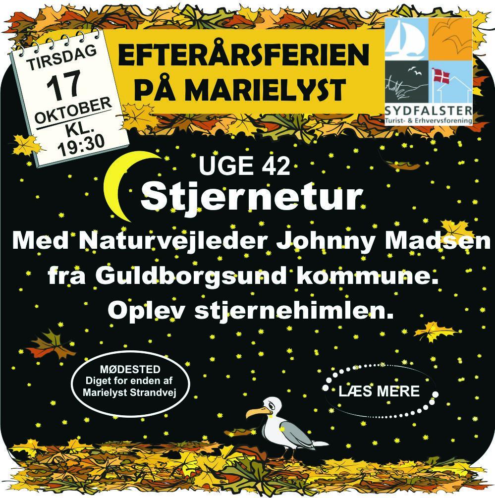 Stjernetur med Naturvejleder Johnny Madsen Guldborgsund kommune