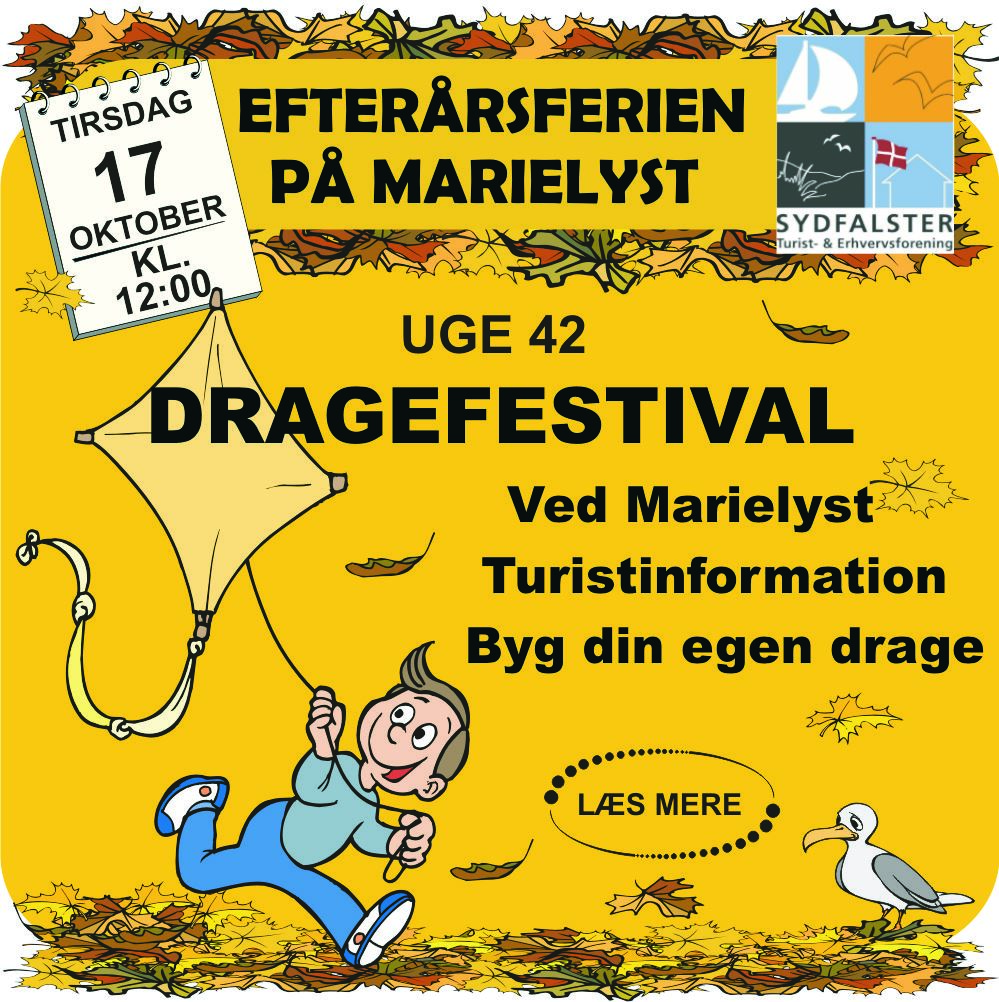Kite Festival at Marielyst Tourist Office