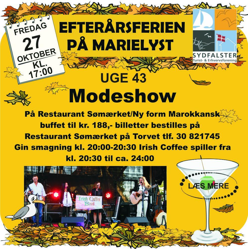 Modeshow på Restaurant Sømærket / Ny form