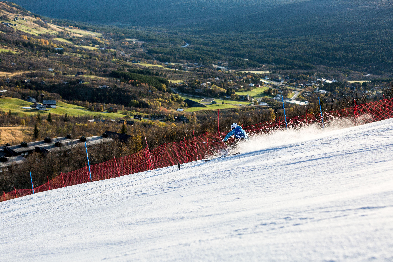 The pre-season park in Havsdalen is open