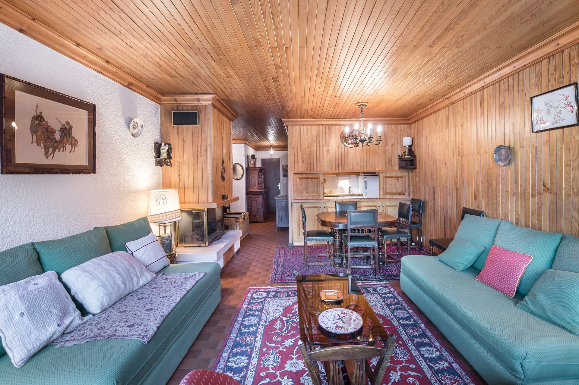 3 rooms 6 people / OURSE BLEUE 509 (mountain of charm)