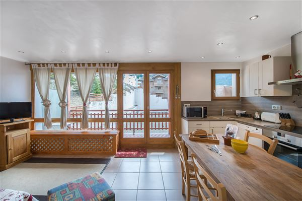 2 rooms 5 people ski-in ski-out / RESIDENCE 1650 39 (Mountain of Charm) / Tranquillity Booking