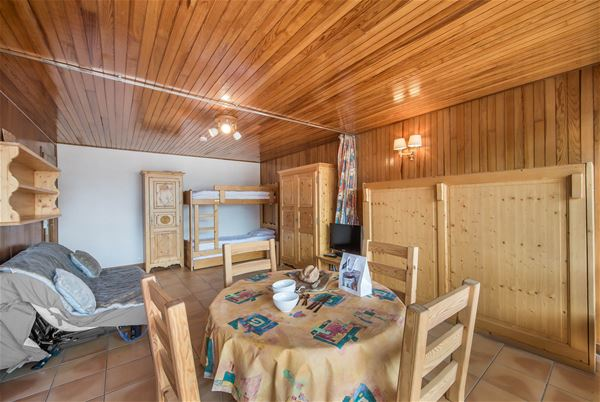 1 studio 4 people ski-in ski-out / RESIDENCE 1650 18 (Mountain)