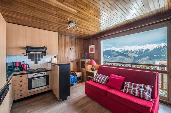 1 studio 3 people ski-in ski-out / RESIDENCE 1650 25 (Mountain of Charm) / Tranquillity Booking
