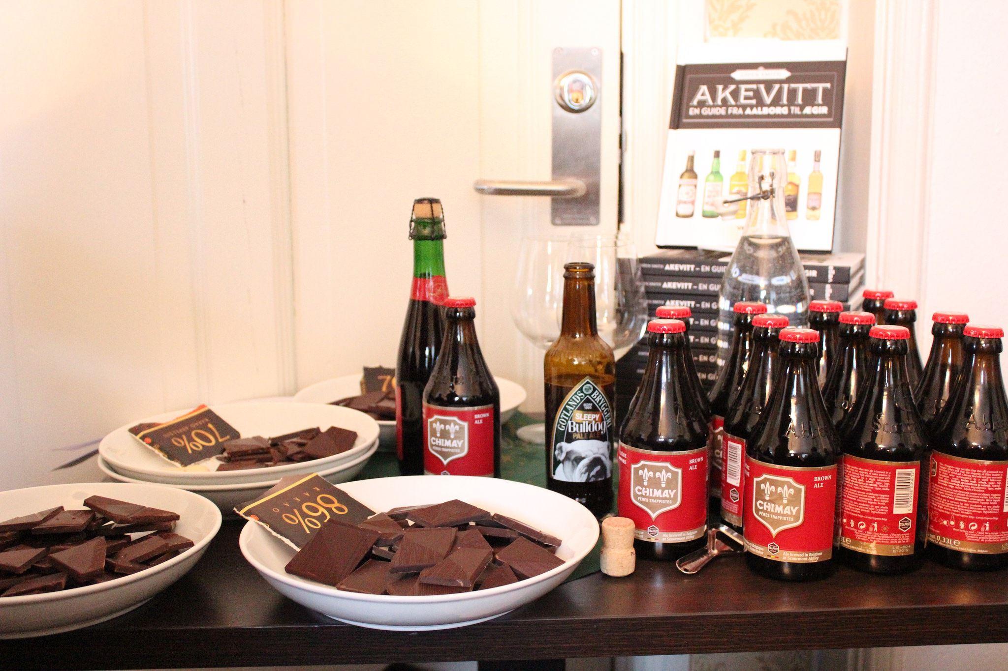 Øl & Sjokolade-smaking m/Espen Smith