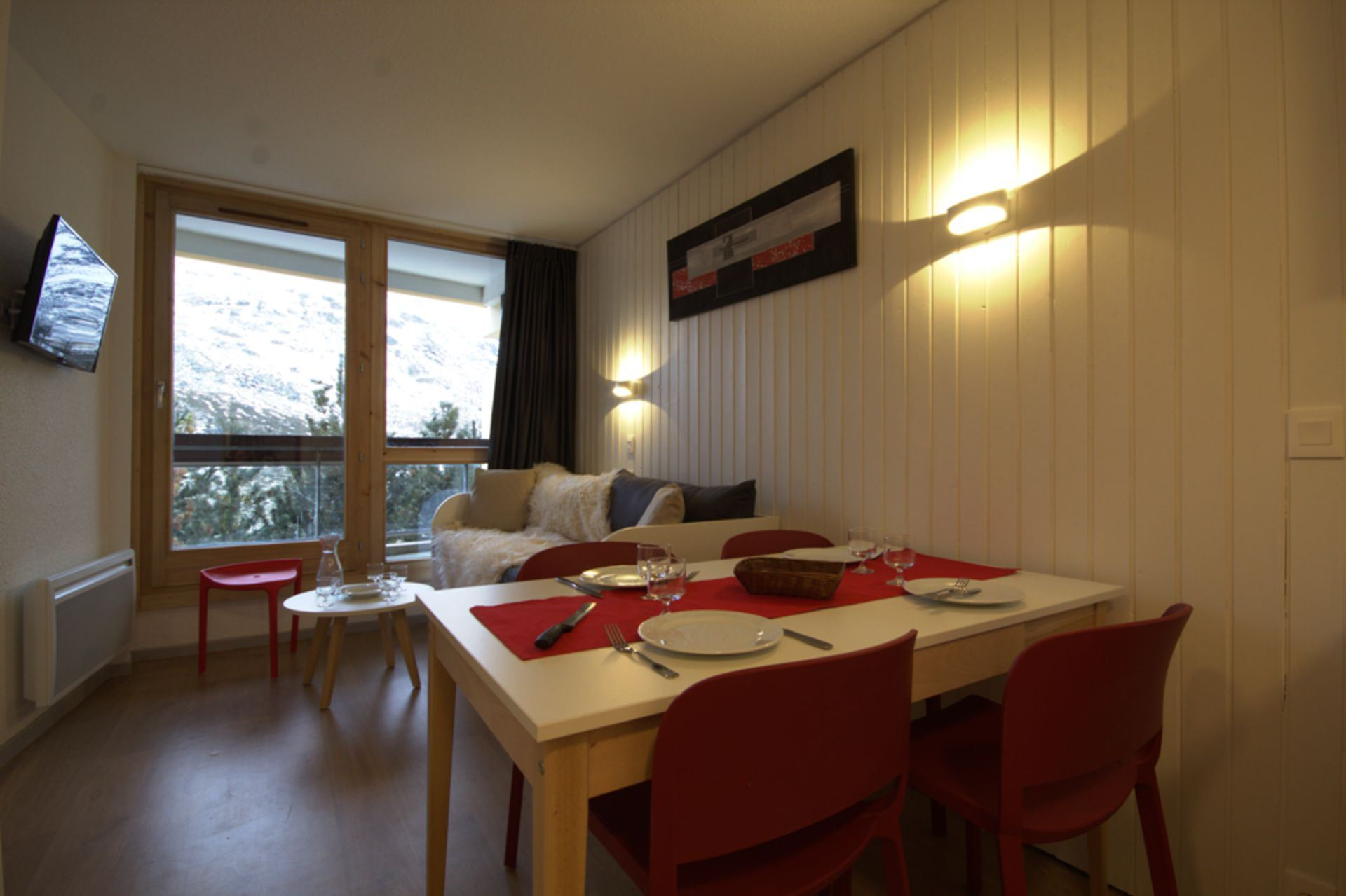 2 Room 5 pers, 150m from the slopes / LES LYS 163