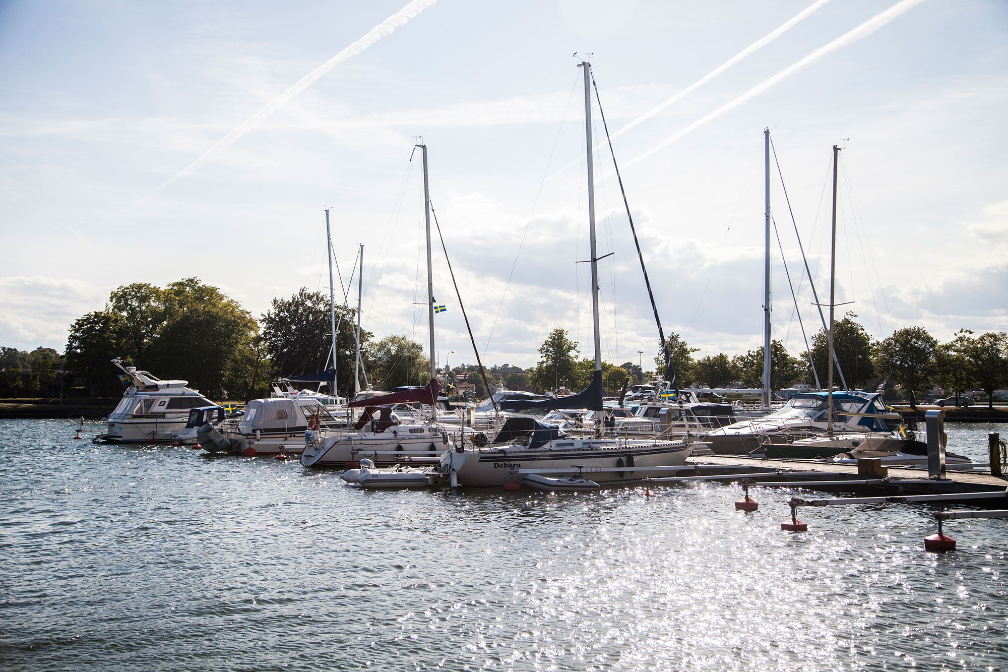 Västervik guest harbor