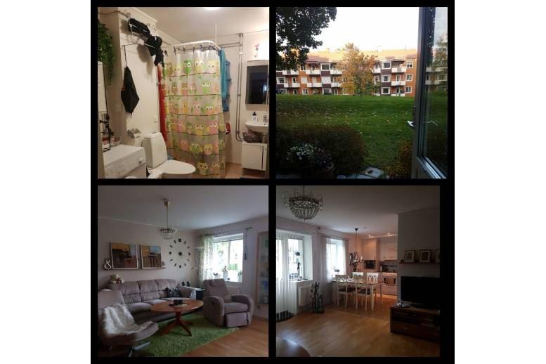 Örnsköldsvik - 2-rums lägenhet centralt m. egen uteplats
