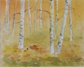 """Utställning: """"Glimtar över land och hav"""" av Tuulikki Huovinen"""