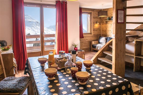 REINE BLANCHE 115 / APARTMENT 3 ROOMS 6 PERSONS - 4 GOLD SNOWFLAKES - VTI
