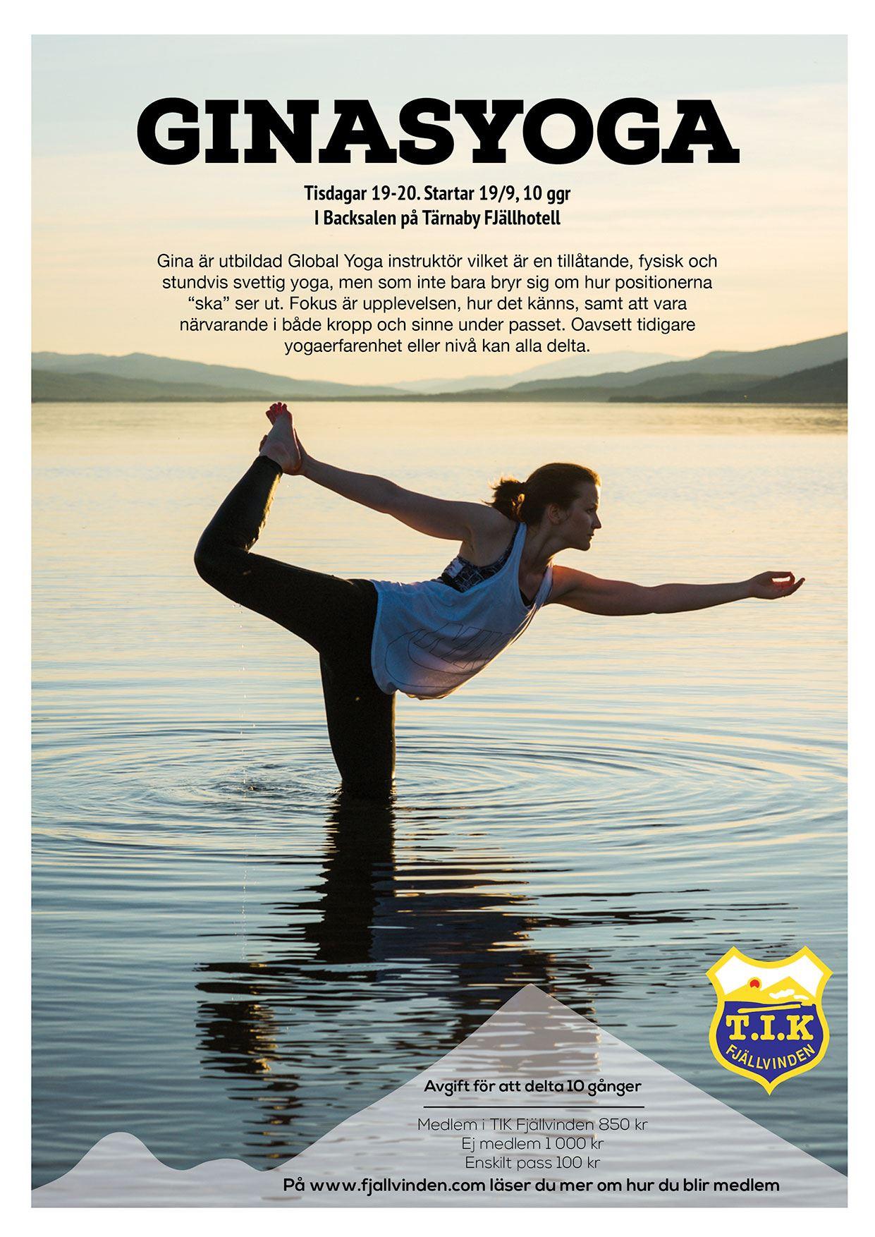 Marianne Lindgren, Yoga på Tärnaby Fjällhotell