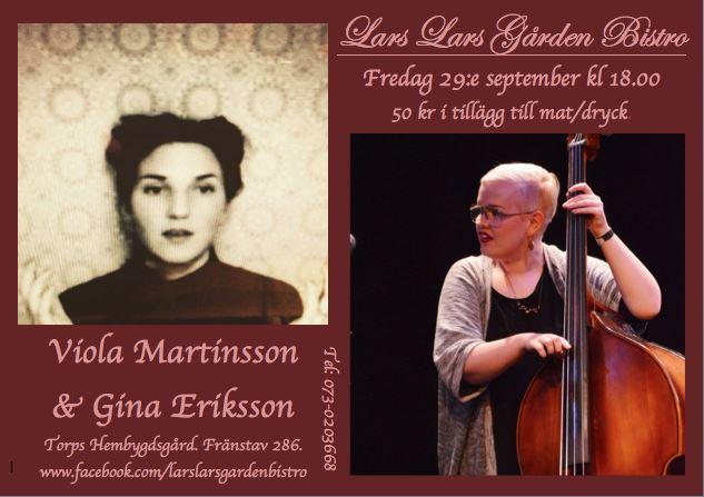 Musik med Viola Martinsson & Gina Eriksson