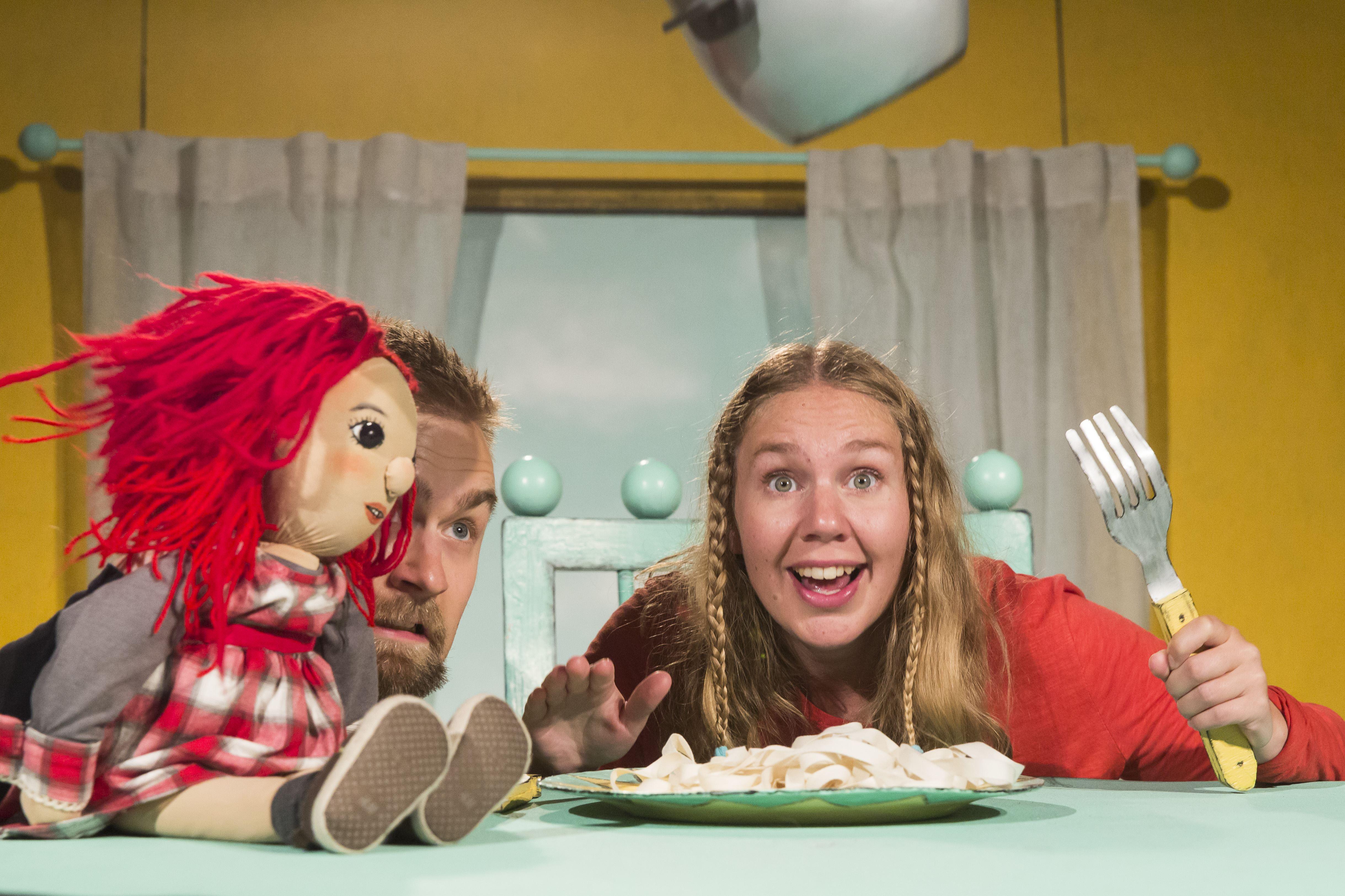 Barnkultur - Äta själv! med Molière Ensemblen från Stockholm