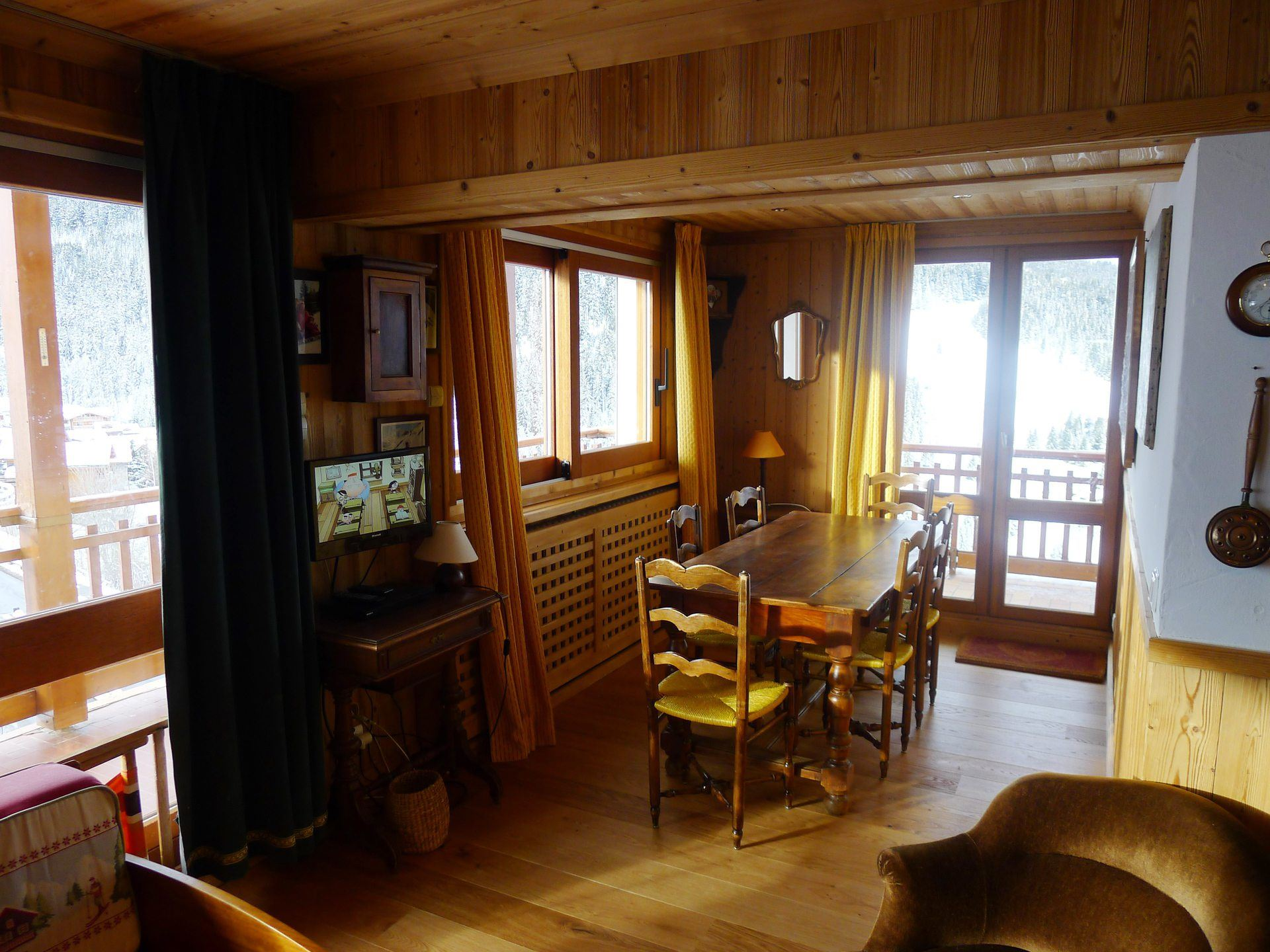 3 rooms 7 people ski-in ski-out / RESIDENCE 1650 12 (mountain)