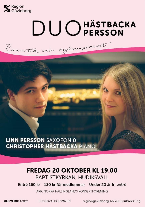 Duo Hästbacka/Persson  Baptistkyrkan, Hudiksvall
