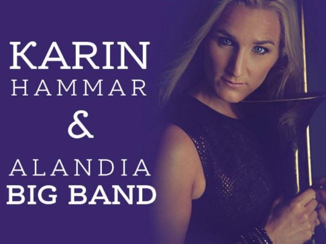 Karin Hammar & Alandia Big Band på Alandica